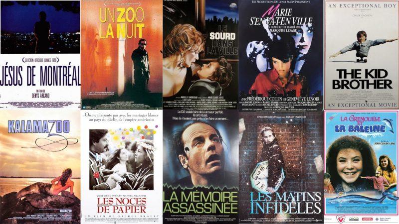 Sélections films années 1980